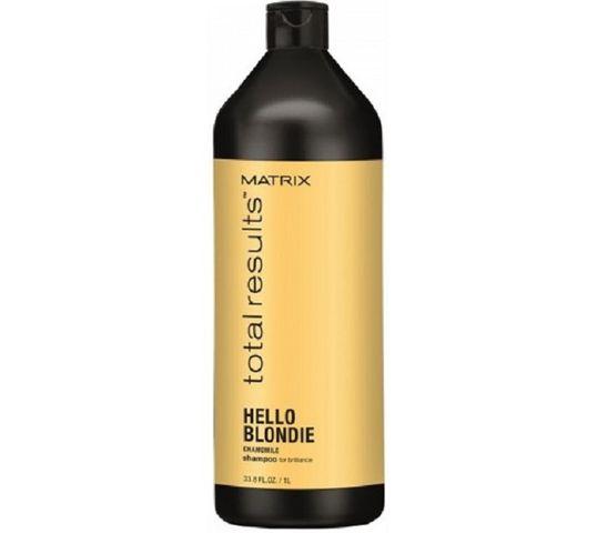 Matrix Total Results Hello Blondie Shampoo szampon do włosów Blond 1000ml