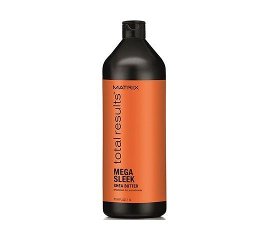 Matrix Total Results Mega Sleek Shea Butter Shampoo szampon do włosów z masłem shea 1000ml