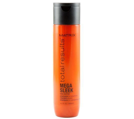 Matrix Total Results Mega Sleek Shea Butter Shampoo szampon do włosów z masłem shea 300ml