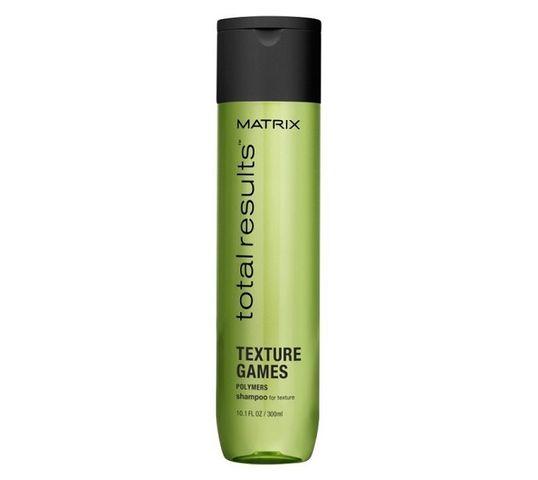 Matrix Total Results Texture Games Shampoo szampon do włosów z polimerami 300ml