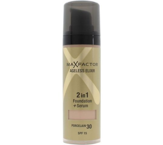 Max Factor Ageless Elixir Miracle Foundation 2in1 podkład+ serum 30 Porcelain SPF15 30ml
