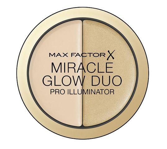 Max Factor Miracle Glow Duo Pro Illuminator rozświetlający korektor do twarzy 10 Light 11g