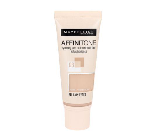 Maybelline Affinitone Podkład do twarzy nr 03 Light Sand Beige - tuba 30 ml