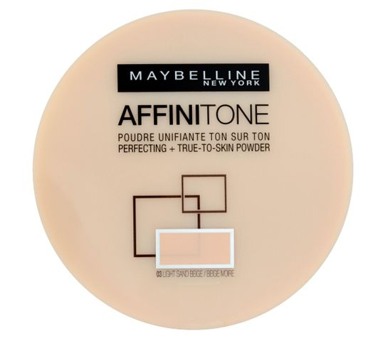 Maybelline Affinitone Puder w kamieniu do twarzy nr 03 light sand beige 9 g