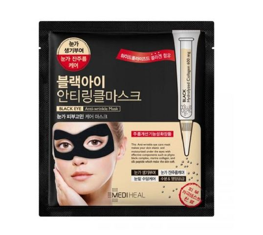Mediheal Black Eye Anti-Wrinkle Mask (maska w płachcie 10 ml)