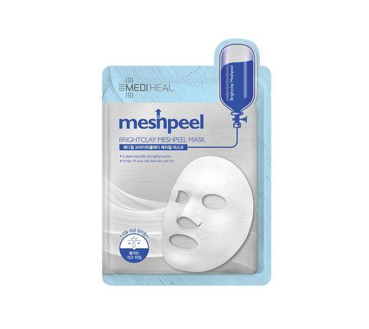 Mediheal Meshpeel Brightclay Meshpeel Mask maska oczyszczająca z białą glinką 17g