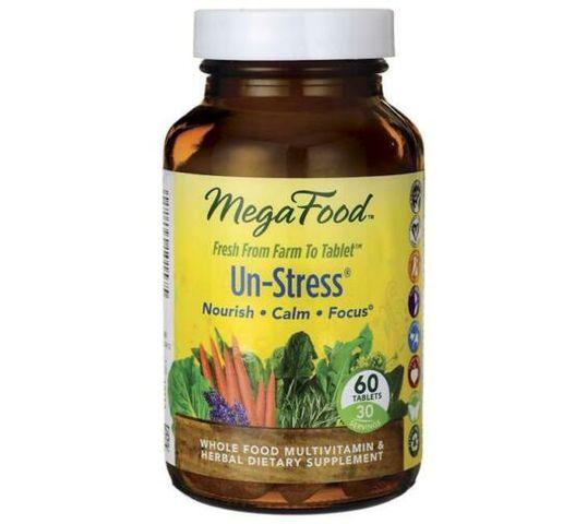 Mega Food Un-Stress na stres suplement diety 60 tabletek
