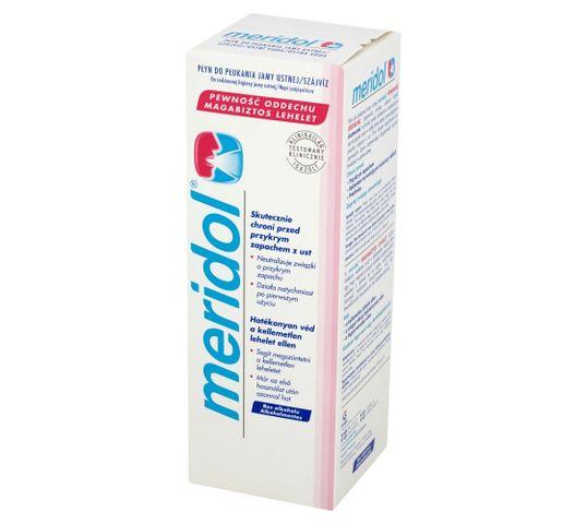 Meridol Pewność Oddechu Płyn do płukania ust odświeżający (400 ml)