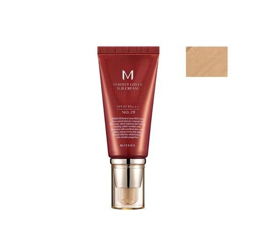 Missha M Perfect Cover BB Cream wielofunkcyjny krem BB SPF42/PA+++ 29 Caramel Beige 50ml
