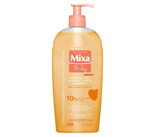 Mixa Baby Płyn do kąpieli i mycia z olejkiem 400 ml