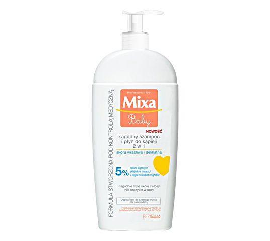 Mixa Baby Żel lipidowy do mycia ciała i włosów 250 ml