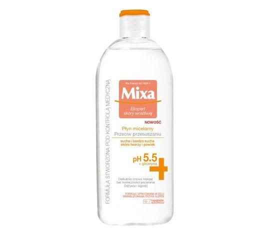 Mixa Płyn micelarny do twarzy przeciw przesuszaniu 400 ml
