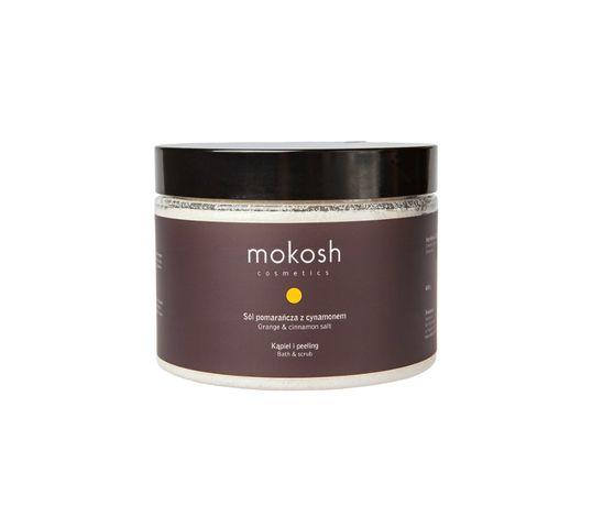 Mokosh – sól Pomarańcza z cynamonem – kąpiel i peeling (600 g)