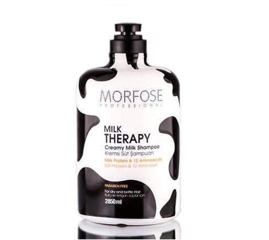 Morfose Creamy Milk Shampoo szampon do włosów suchych i łamliwych 2850ml