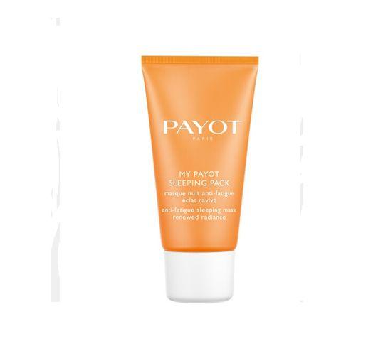 My Payot Sleeping Pack rozświetlająca maska do twarzy na noc 50ml