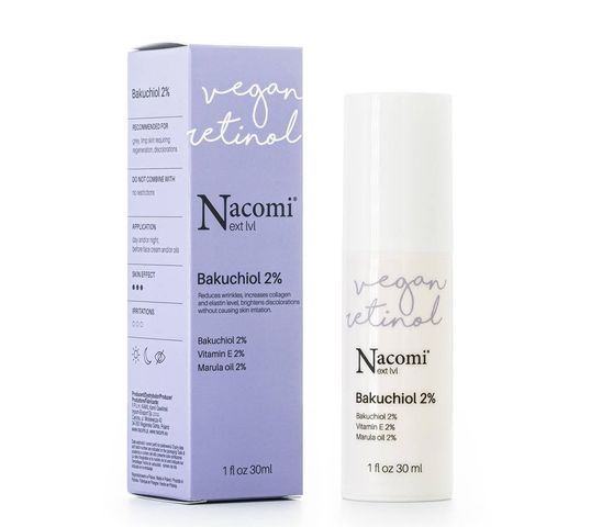 Nacomi Next Level – serum do twarzy bakuchiol 2% (30 ml)