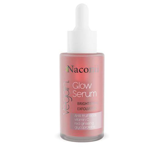 Nacomi Vegan Glow Serum – serum rozjaśniająco-złuszczające (40 ml)