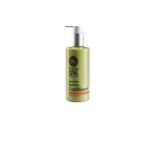 Natura Siberica Fresh Spa Birch Tree Conditioner odżywka do włosów wzmacniająca Biała Brzoza 300ml