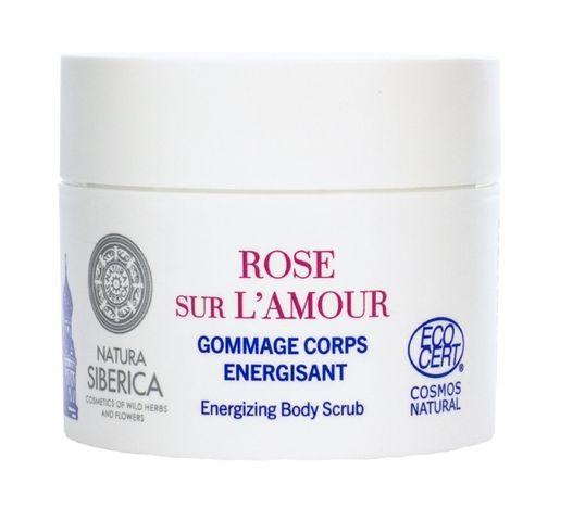 Natura Siberica Rose Sur L'amour energizujący peeling do Ciała Rose de Grasse & Siberian Blueberry 200 ml