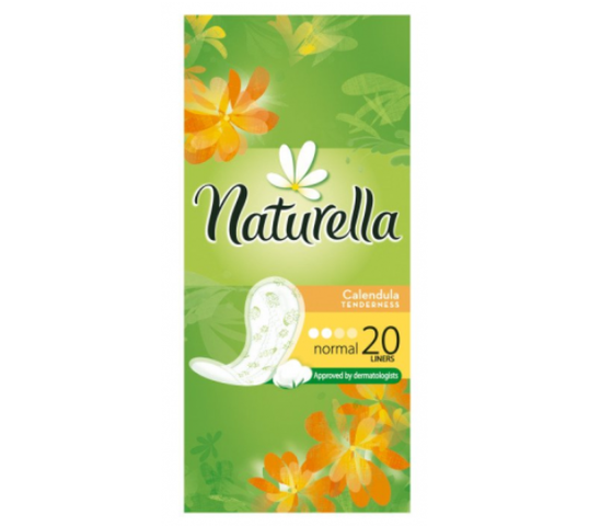 Naturella Wkładki higieniczne Calendyla (20 szt.)