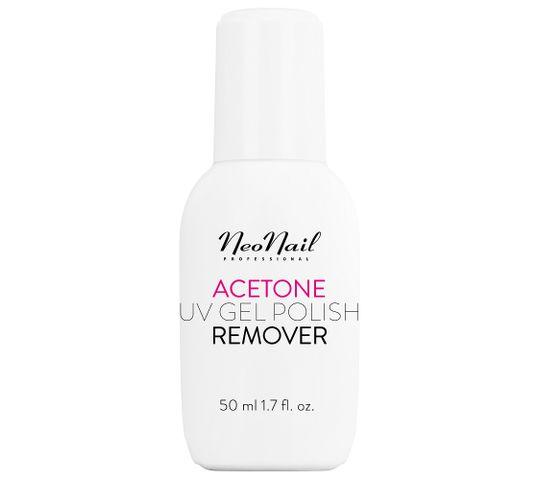 NeoNail – Acetone UV Gel Polish Remover zmywacz do lakieru hybrydowego (50 ml)