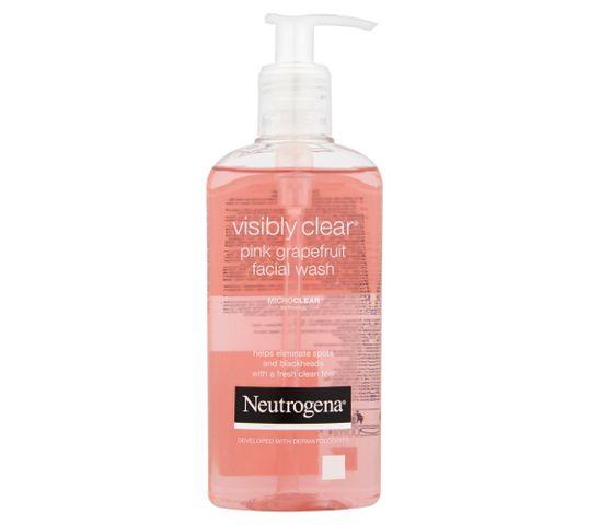 Neutrogena Visibly Clear Żel do mycia twarzy orzeźwiający z pompką 200 ml