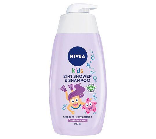 Nivea Baby Kojący Żel do mycia ciała i włosów Emolient 500 ml