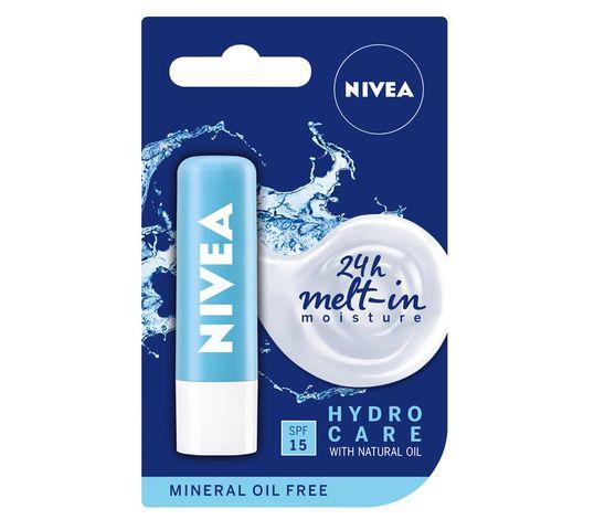 Nivea Lip Care Pomadka ochronna do ust Hydro Care (4.8 g)