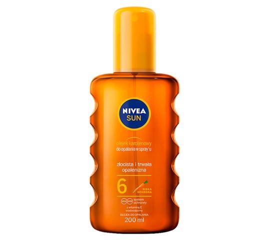 Nivea Sun olejek karotenowy do opalania w spray'u SPF6 (200 ml)