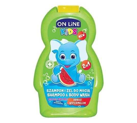 On Line Kids Szampon 2w1 Arbuz 250 ml