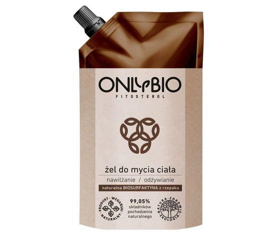 OnlyBio Fitosterol Żel do mycia ciała nawilżająco-odżywczy – opakowanie zapasowe (250 ml)