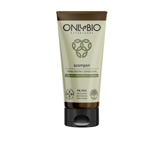 OnlyBio Fitosterol Szampon do włosów suchych i zniszczonych z olejem z sezamu (200 ml)