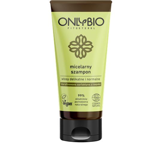 OnlyBio Fitosterol Szampon micelarny do włosów delikatnych i normalnych (200 ml)
