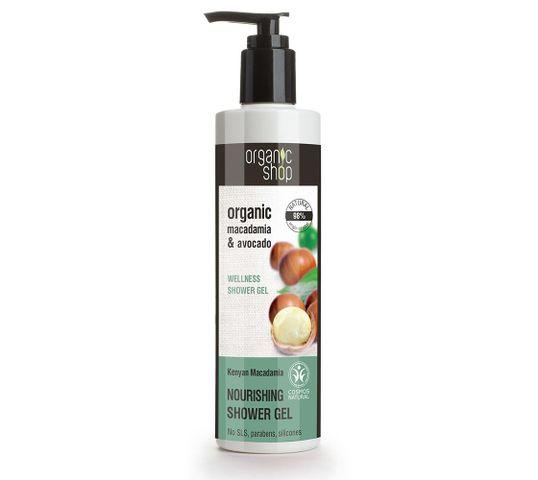Organic Shop żel pod prysznic nawilżający kenijska makadamia (280 ml)