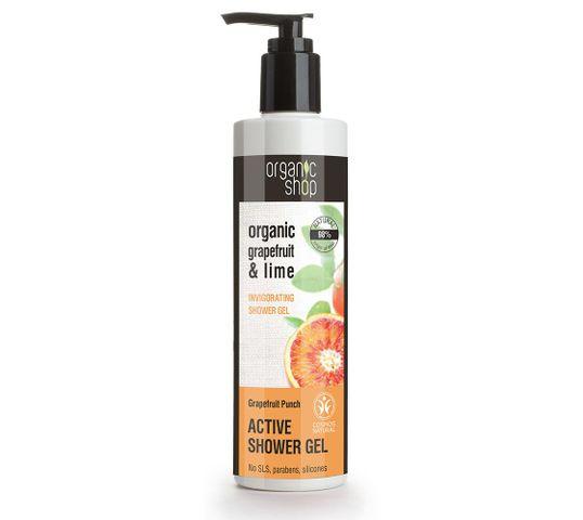 Organic Shop żel pod prysznic orzeźwiający grejpfrut (280 ml)