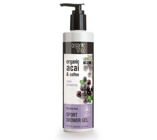 Organic Shop żel pod prysznic tonizujący brazylijskie jagody acai (280 ml)