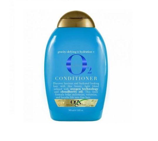 Organix Gravity-Defying & Hydration O2 Contidioner odżywka dotleniająco-nawilżająca z liposomami tlenu 385ml