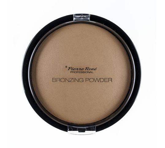 Pierre Rene Professional Bronzing Powder puder brązujący No 02 Medium Bronze 20g