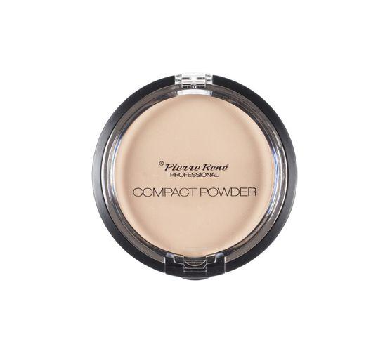Pierre Rene Professional Compact Powder puder w kamieniu No 3 Transparent 8g