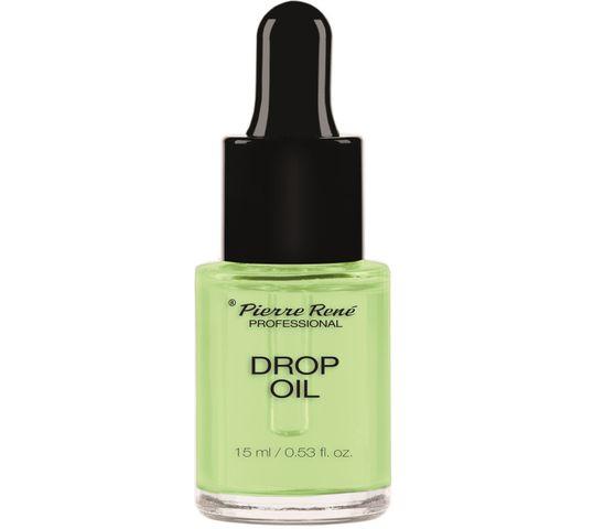 Pierre Rene Professional Drop Oil oliwka w zakraplaczu do pielęgnacji skórek i paznokci 15ml