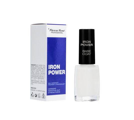Pierre Rene Professional Nail Hardener preparat utwardzający do paznokci Iron Power 11ml