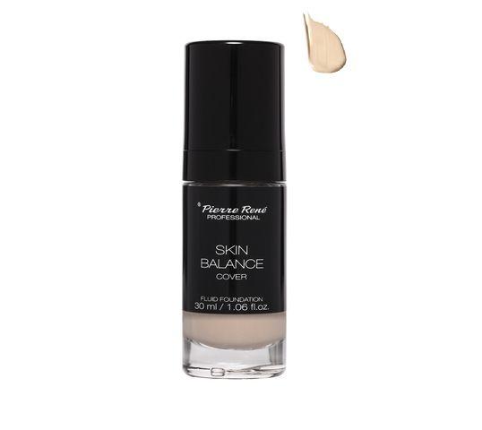 Pierre Rene Professional Skin Balance Cover Fluid Foundation wodoodporny podkład kryjący 27 Cream 30ml