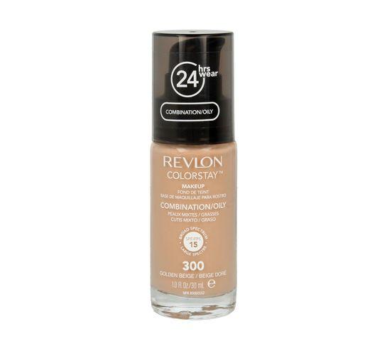 Revlon Colorstay 300 cera mieszana i tłusta Golden Beige (podkład 30 ml)