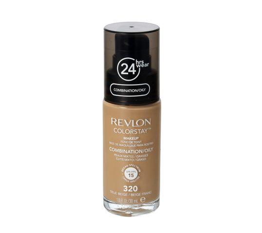Revlon Colorstay 320 cera mieszana i tłusta True Beige (podkład 30 ml)