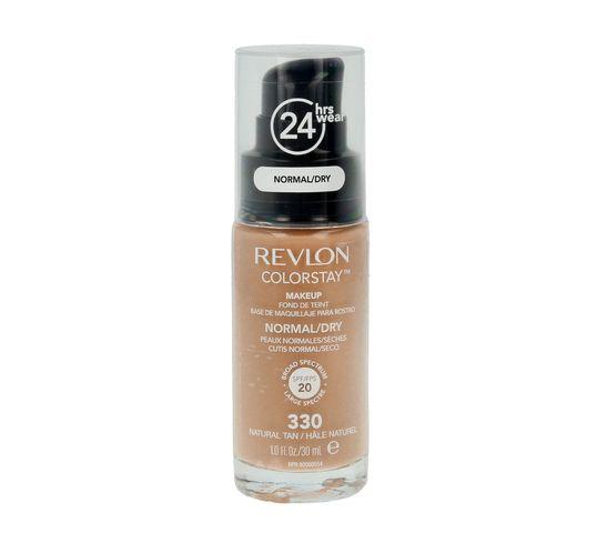 Revlon Colorstay cera sucha i normalna 330 Natural Tan (podkład 30 ml)