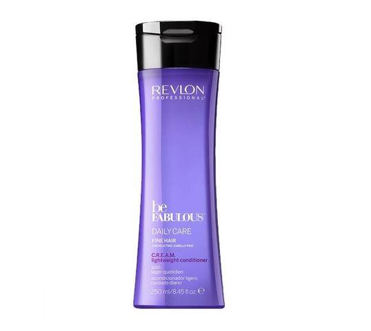 Revlon Professional Be Fabulous Dail Care Fine Hair Lightweight Conditioner lekka odżywka do włosów cienkich 250ml