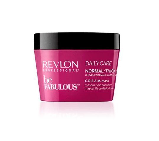Revlon Professional Be Fabulous Dail Care Normal/Thick Hair maska do włosów normalnych i grubych 200ml