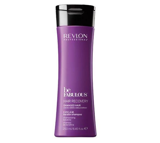 Revlon Professional Be Fabulous Hair Recovery Damaged Hair Keratin Shampoo szampon keratynowy do włosów suchych i zniszczonych 250ml