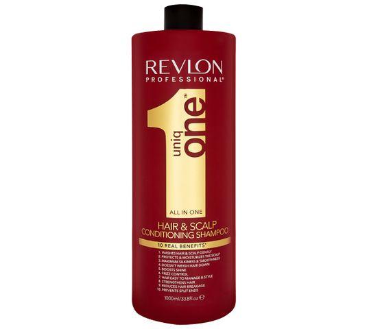 Revlon Professional Uniq One All In One Hair 10R Shampoo szampon nawilżający do włosów 1000ml
