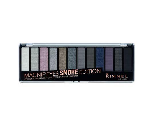 Rimmel Magnif'Eyes Eyeshadow Palette paleta cieni 003 Smoke Edition (14.16 g)